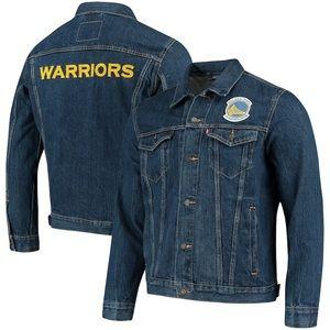Levi's Golden State Warriors Denim Jacket